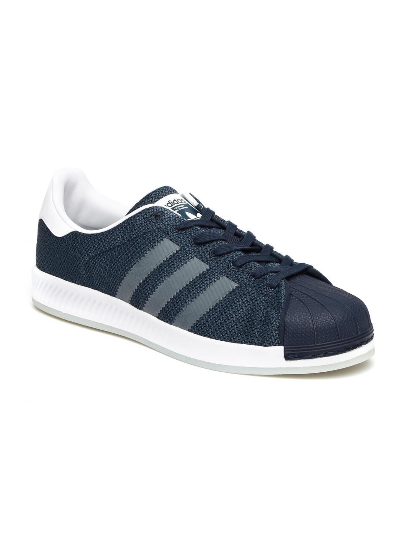 d81f92c4a1568 Buy ADIDAS Originals Men Navy Blue SUPERSTAR BOUNCE Sneakers ...