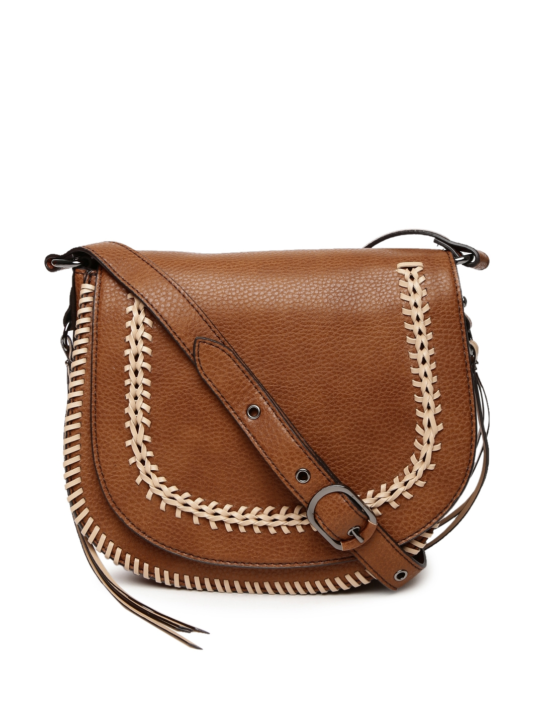 Buy ALDO Tan Miroissi Sling Bag - Handbags for Women | Myntra