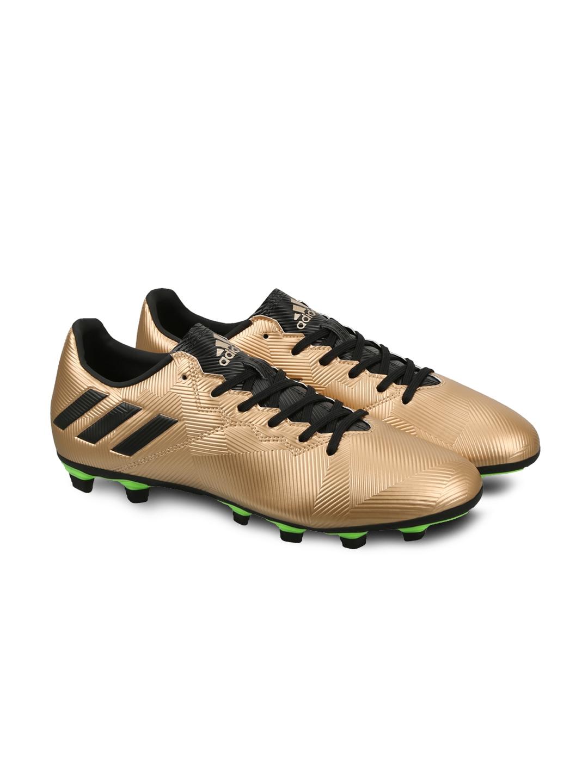 ADIDAS Men Copper Toned Messi 16.4 FXG Football Shoes