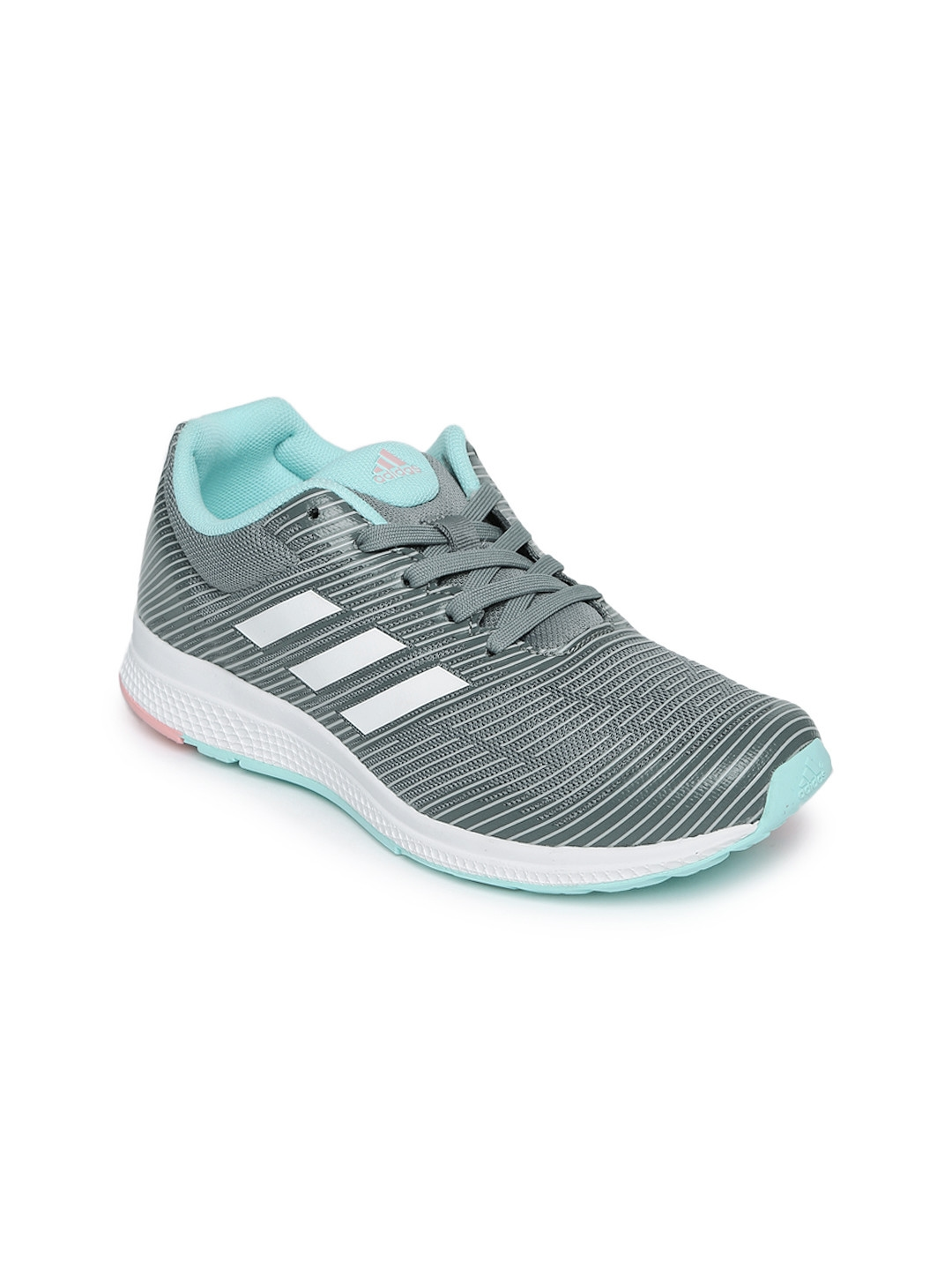 a4a41fc63 Buy ADIDAS Kids Grey Mana Bounce 2 J Running Shoes - Sports Shoes ...