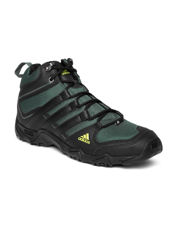 Green Aztor Hiker Mid Trekking Shoes