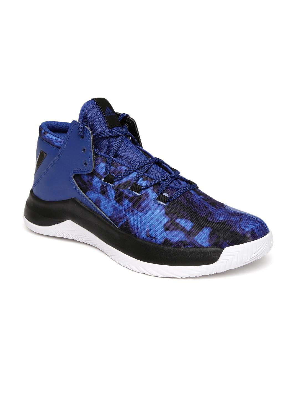 mejor coleccion mas bajo precio gran inventario Buy ADIDAS Men Blue Rise Up Mid Top Basketball Shoes - Sports ...