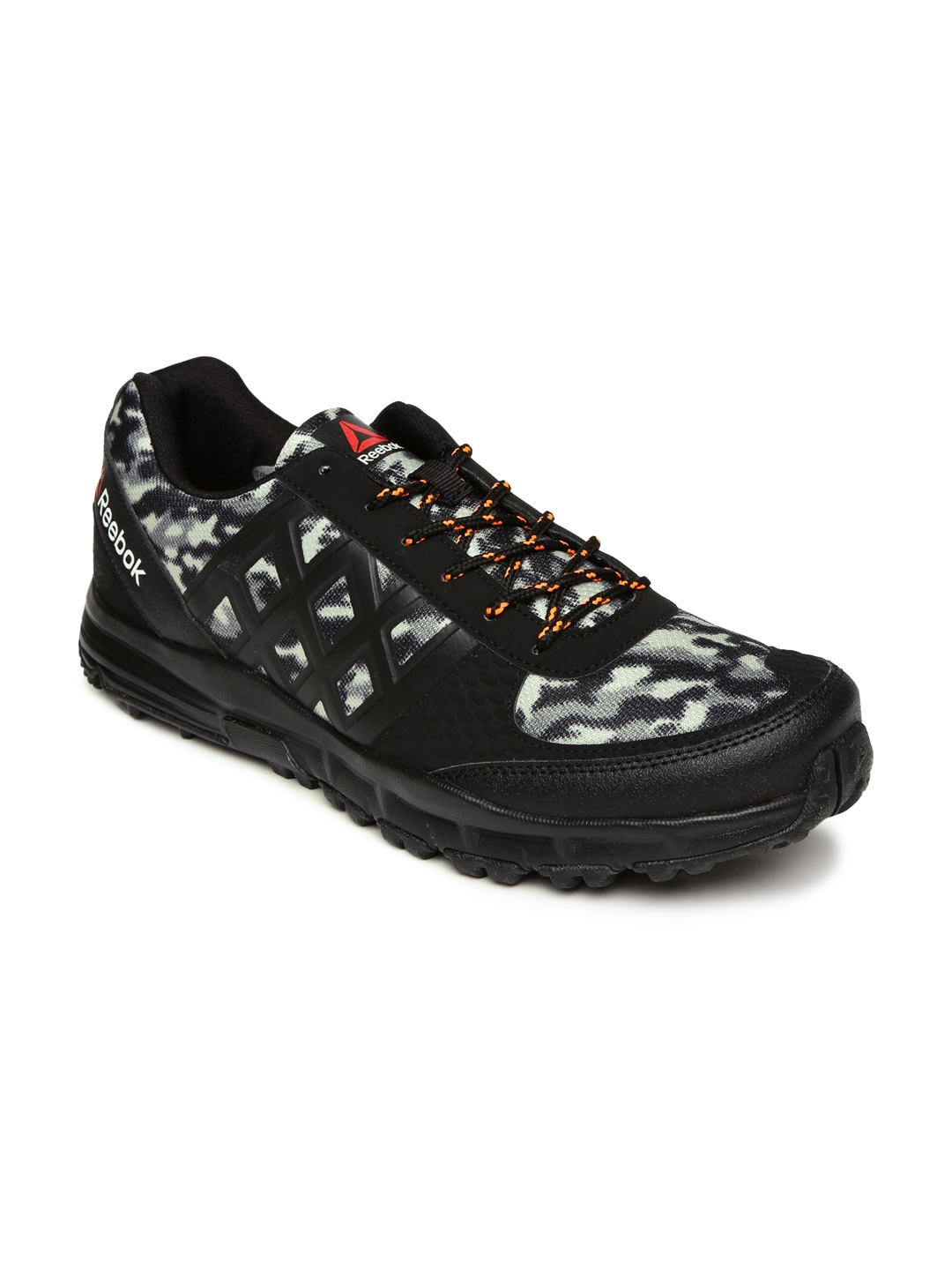 Buy Reebok Men Black   Grey Camo Trek Walking Shoes - Sports Shoes ... 164f41ffc