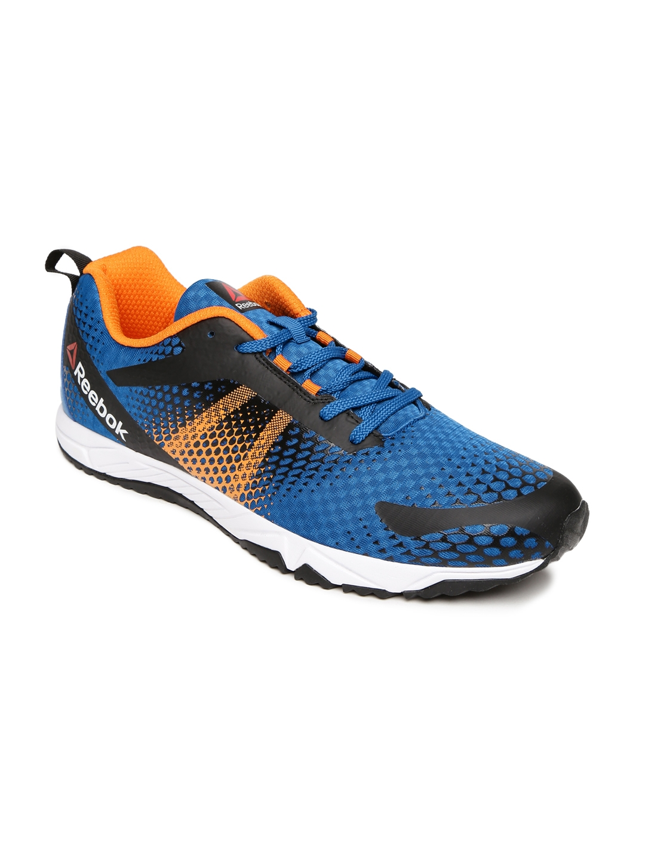 Buy Reebok Men Blue   Orange Blaze Running Shoes - Sports Shoes for ... 1ccc1f5a3