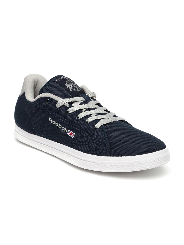 eaf865a43920 Buy Reebok Men Navy Blue Court LP Sneakers - Casual Shoes for Men ...