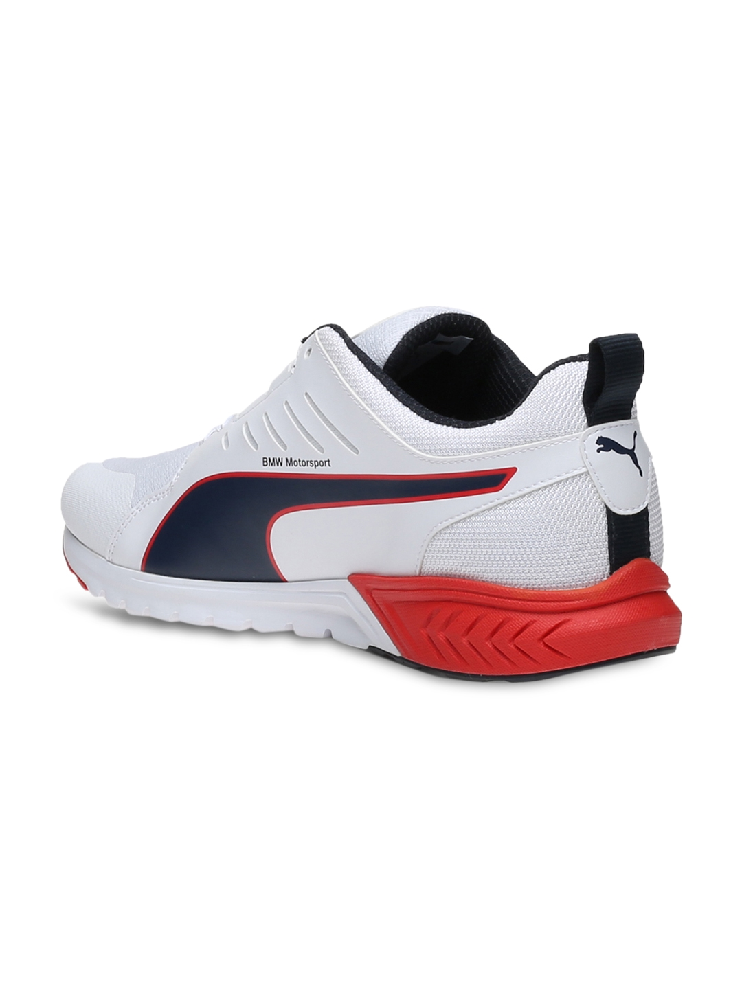 Buy PUMA Men White BMW MS Pitlane Ignite Dual Sneakers - Casual ... e8659a990