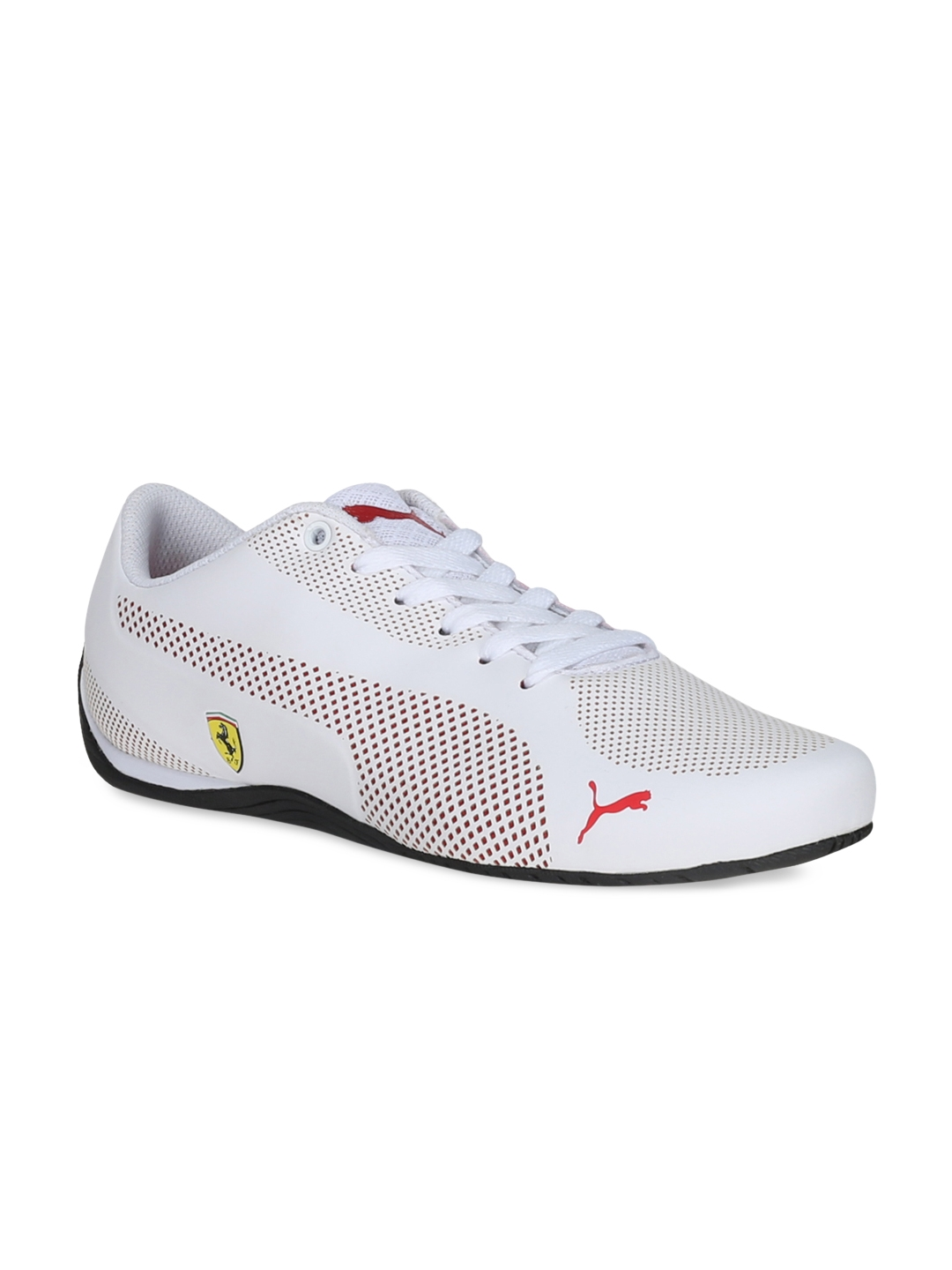 fcdaa6b952313d Buy PUMA Unisex White SF Drift Cat 5 Ultra Sneakers - Casual Shoes ...