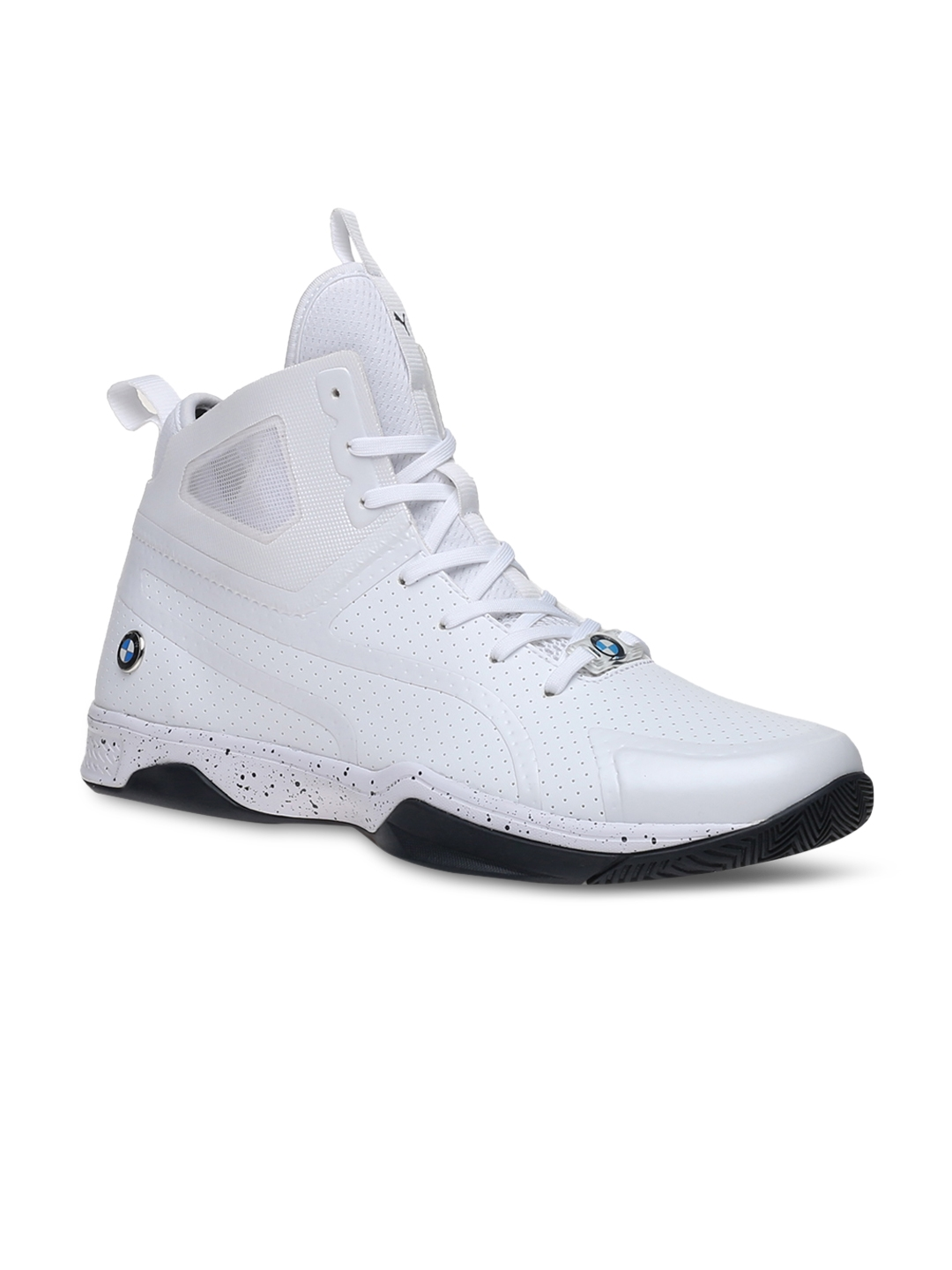 a88ea594231620 Buy PUMA Men White BMW MS Whiplash Mid Top Sneakers - Casual Shoes for Men  1735406