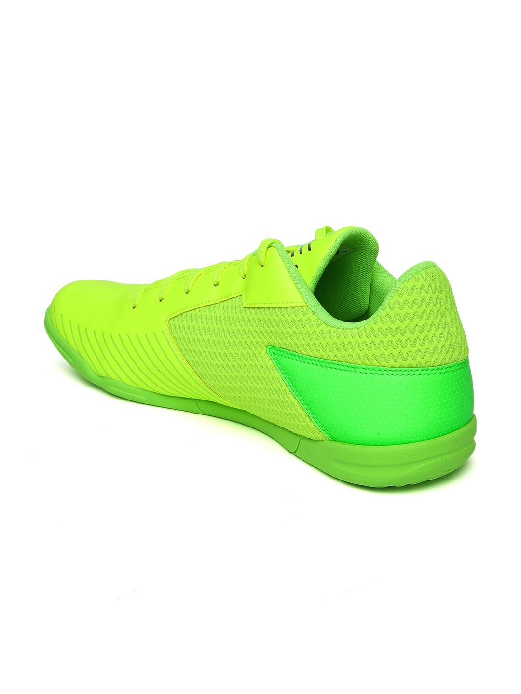 115dc3d81 Buy Puma Men Fluorescent Green 365 CT Indoor Football Shoes - Sports Shoes  for Men 1736577