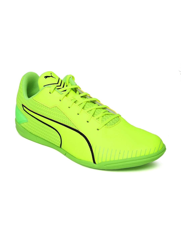 f7556faaf Buy Puma Men Fluorescent Green 365 CT Indoor Football Shoes - Sports ...