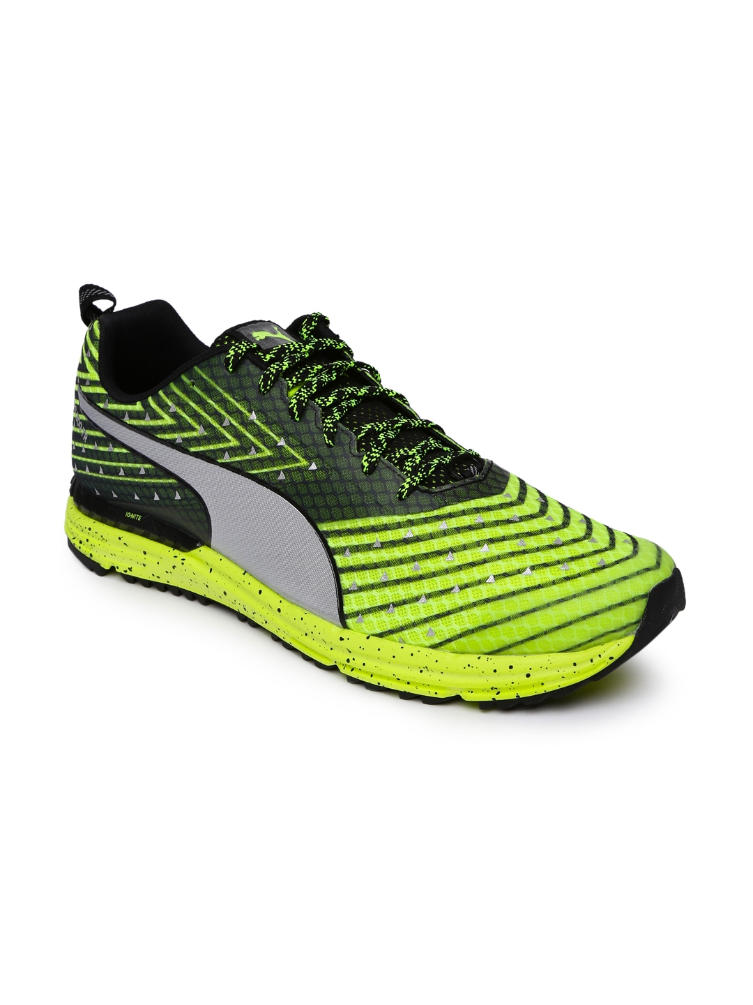 cb6c2b66dfa Buy Puma Men Green Speed 300 TR IGNITE Running Shoes - Sports Shoes ...