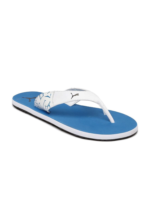 Buy Puma Unisex White   Blue Winglet II DP Flip Flops - Flip Flops for  Unisex 1736625  e015267c9