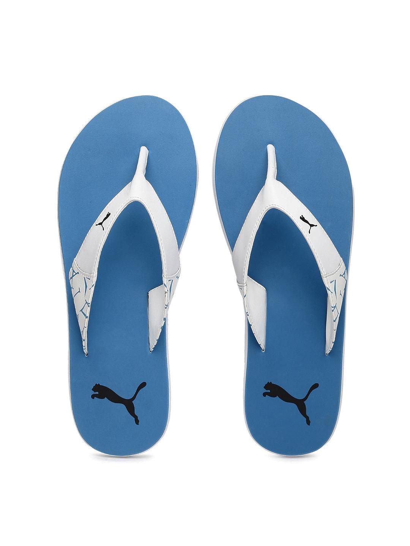 Buy Puma Unisex White   Blue Winglet II DP Flip Flops - Flip Flops ... 325a3ce0c