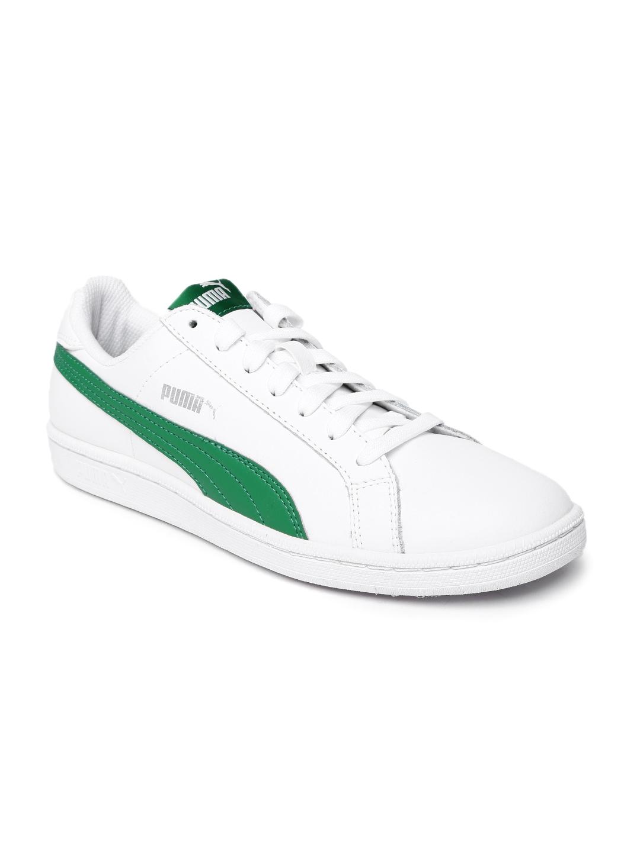 721169c56ec wholesale puma men white smash genuine leather sneakers 33dcb 24539