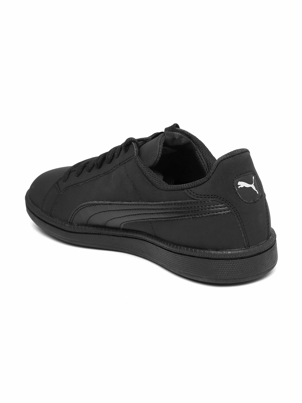 eaa42f5509f1 Buy Puma Men Black Smash Buck Sneakers - Casual Shoes for Men ...