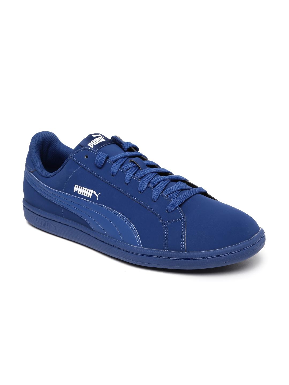 7e9bb2a3ca4f6 Puma Men Blue Smash Buck Sneakers