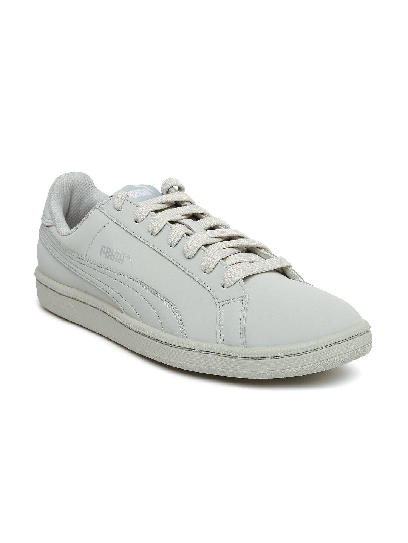 dfdf4d345e0 Buy Puma Men Grey Smash Buck Sneakers - Casual Shoes for Men 1736642 ...
