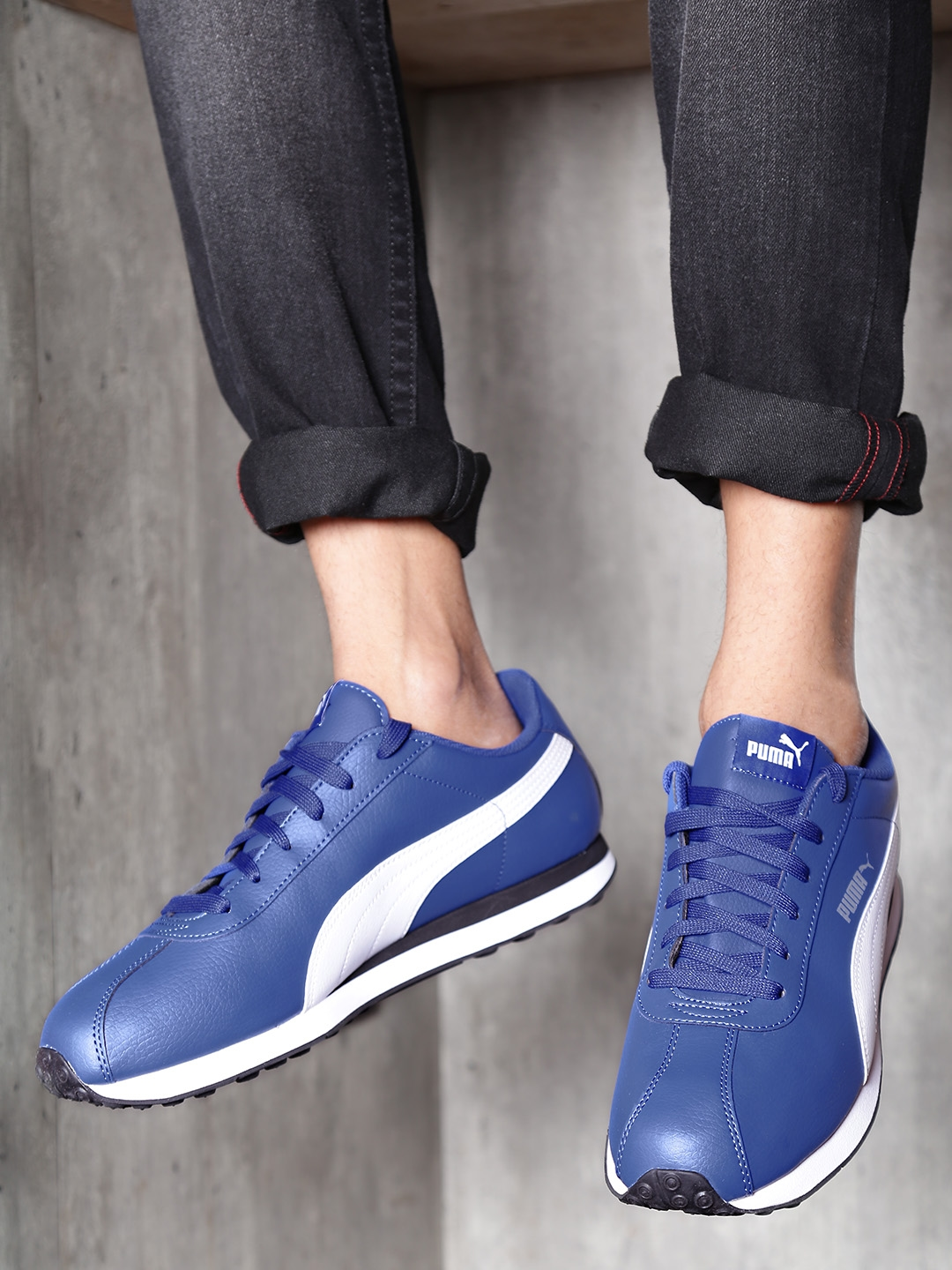 b179dcd32ab Buy Puma Men Blue   White Turin Sneakers - Casual Shoes for Men ...