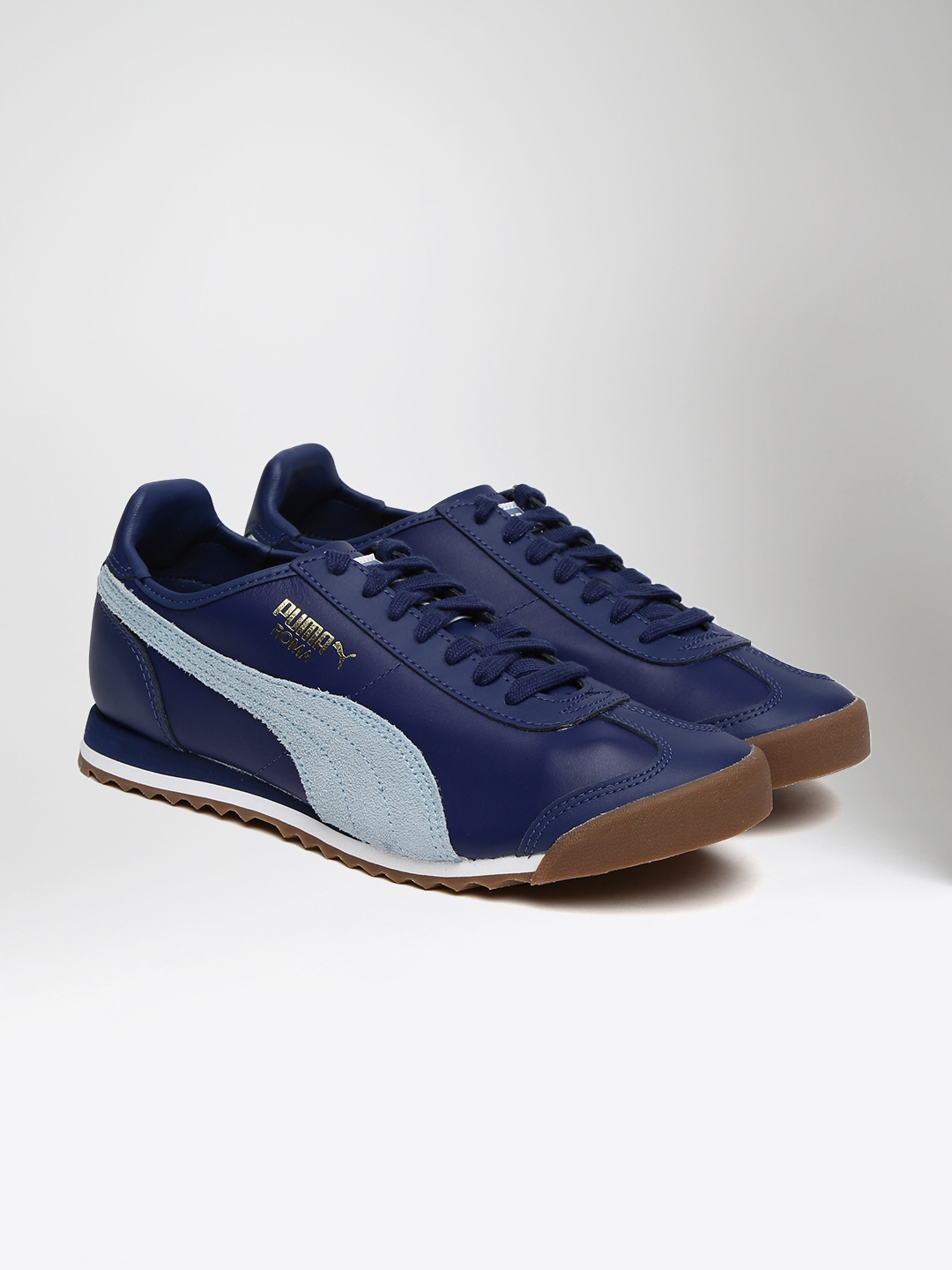 Buy Puma Men Blue Roma OG 80s Sneakers - Casual Shoes for Men ... 63242dad8