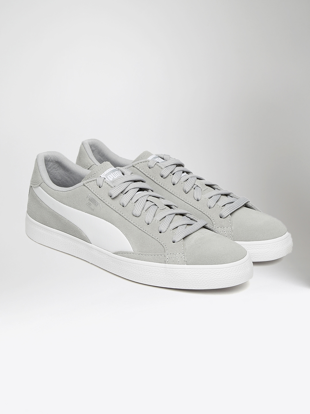 Buy Puma Men Grey   White Match Vulc 2 Sneakers - Casual Shoes for ... 88fac3db9