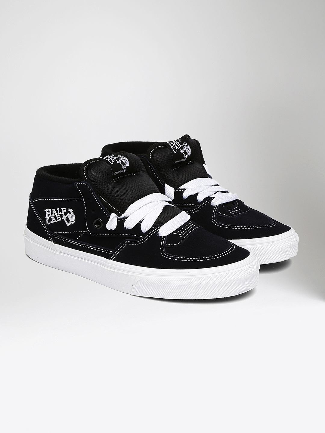 Buy Vans Unisex Half Cab Black Sneakers - Casual Shoes for Unisex ... f50ceea2bf