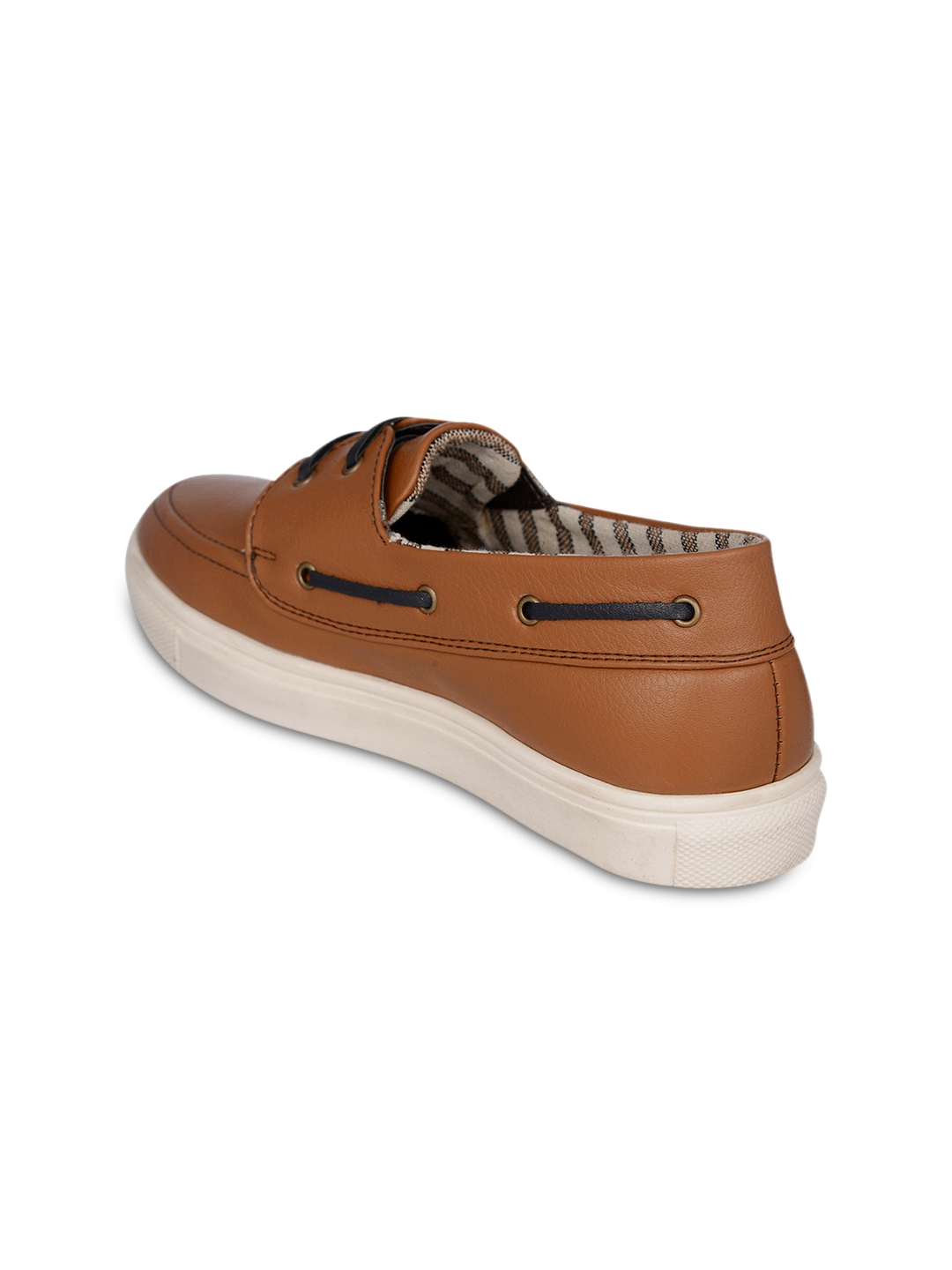 056a45230 Buy Bruno Manetti Women Tan Brown Solid Boat Shoes - Casual Shoes ...