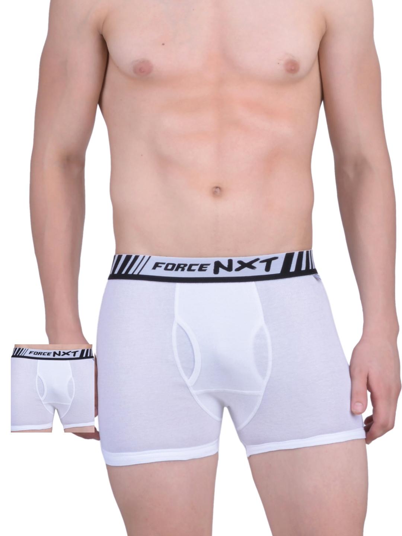 Force NXT Pack of 2 White Trunks MNFR 211