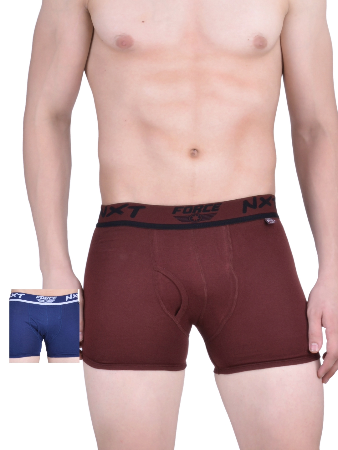 Force NXT Men Pack of 2 Assorted Trunks MNFF 131
