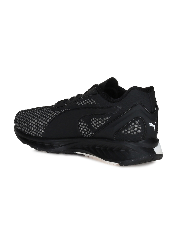 8e46f10cc668 Buy Puma Men Black   White Ignite 3 Running Shoes - Sports Shoes for ...