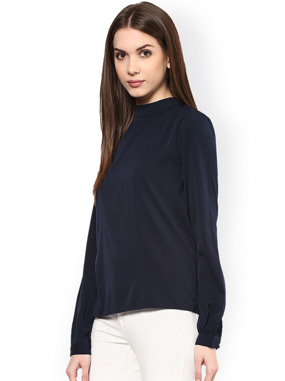 835d8162e67 Buy Harpa Navy Styled Back Top - Tops for Women 1744632 | Myntra