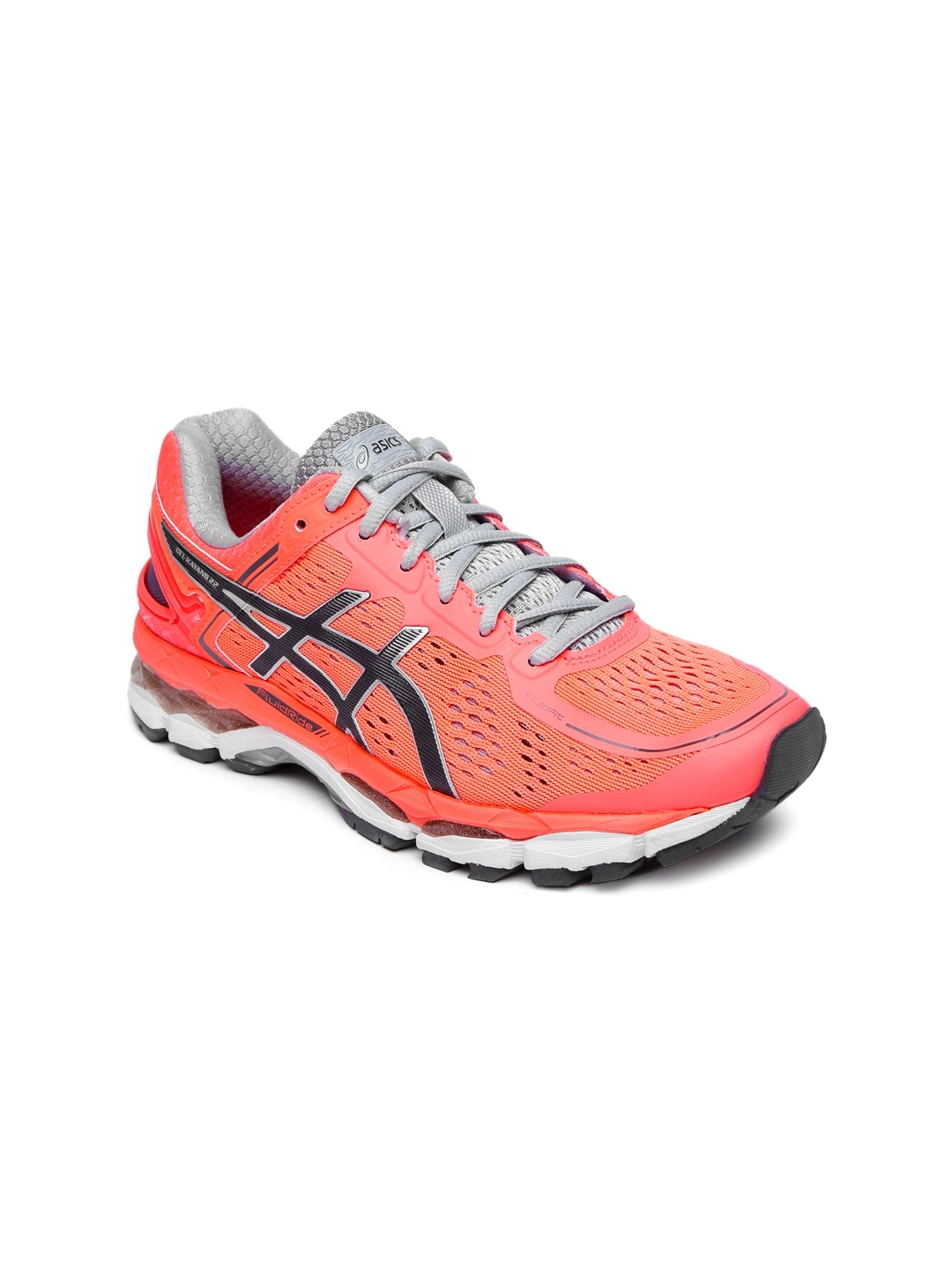 2d772f73e20c8e Buy ASICS Women Neon Orange Running Shoes - Sports Shoes for Women ...