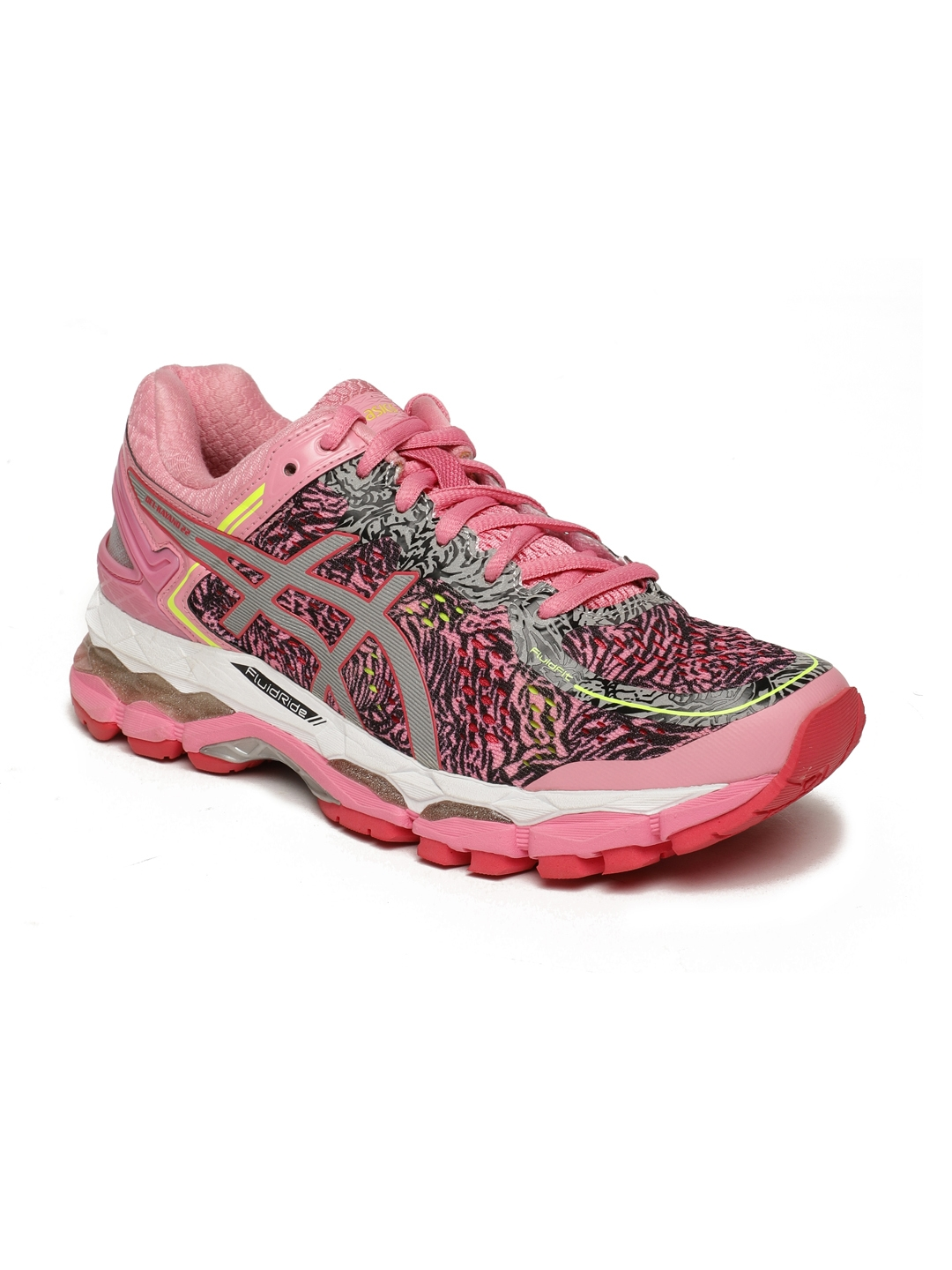 089921f5ec76cb Buy ASICS Women GEL KAYANO 22 LITE SHOW Pink Running Shoes - Sports ...