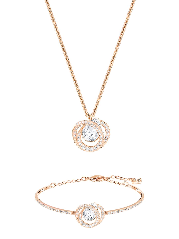 5d3aa56319483 Buy SWAROVSKI Generation Set - Jewellery Set for Women 1750526   Myntra