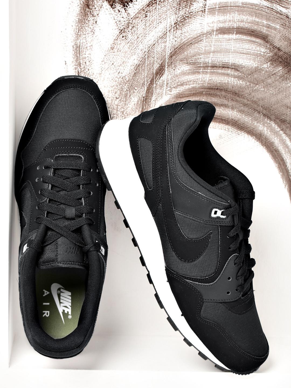 Buy Nike Men Black Solid Air Pegasus  89 Leather Sneakers - Casual Shoes  for Men 1752701  1bf1732dae