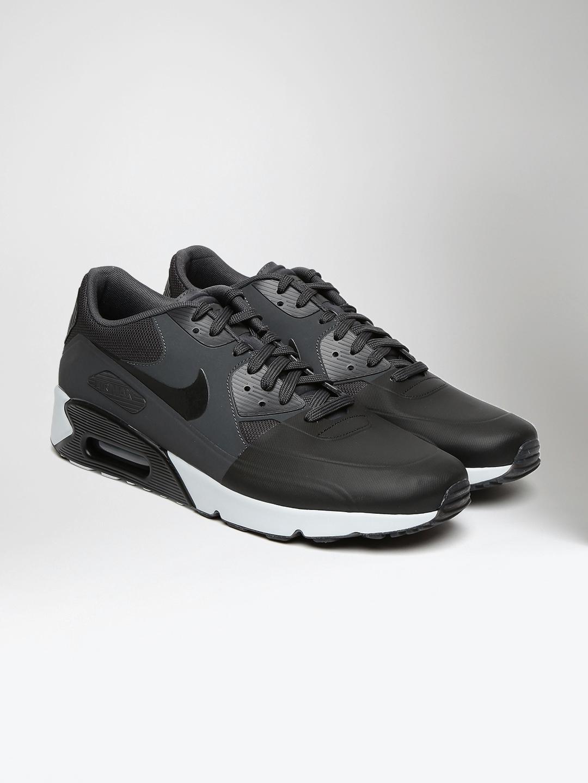 sneakers for cheap 9b45e 48fbd Nike Men Black  Charcoal Grey AIR MAX 90 ULTRA 2.0 Sneakers