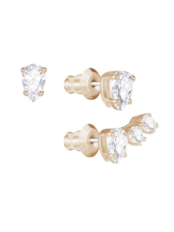 4cda81d7c9e332 Buy SWAROVSKI Attract Pear Pierced Earring Set - Earrings for Women ...