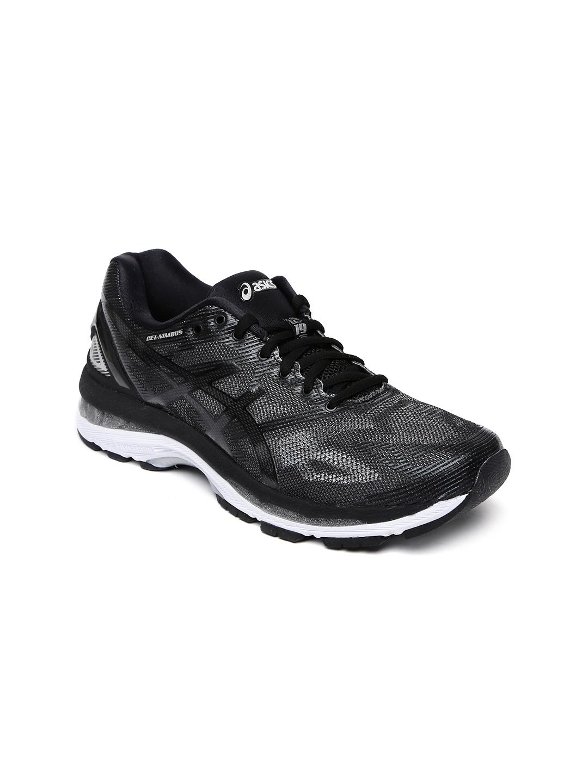 size 40 820eb c94ff Buy ASICS Women Grey Gel Nimbus 19 Running Shoes - Sports ...