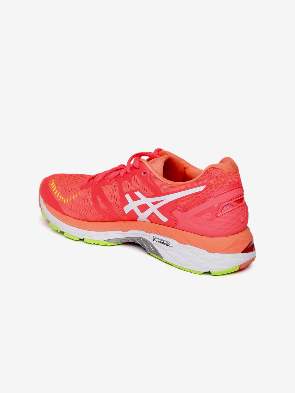 b515609914c8 Buy ASICS Women Neon Orange Gel Kayano 23 Running Shoes - Sports ...