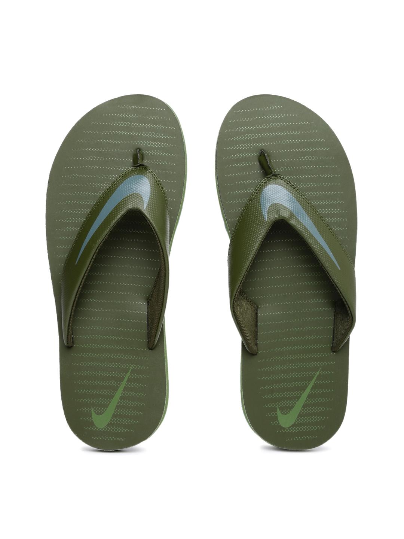 6be5f479cb8d Buy Nike Men Olive Green Chroma Thong 5 Flip Flops - Flip Flops for ...