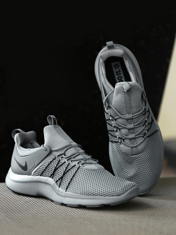 sale retailer 3d524 ab0e8 Buy Nike Men Grey Darwin Sneakers - Casual Shoes for Men 1756710   Myntra