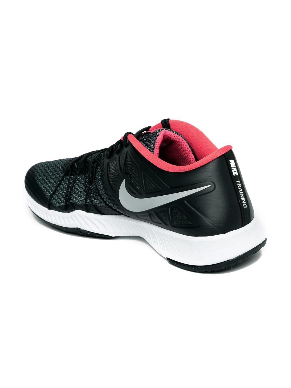 b4584f0c94b9 Buy Nike Men Black   Grey Zoom Train Incredibly Fast Training Shoes ...