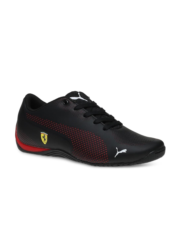 401ca2d81e2b37 Buy Puma Unisex Black Solid SF Drift Cat 5 Ultra Jr Regular Sneakers ...