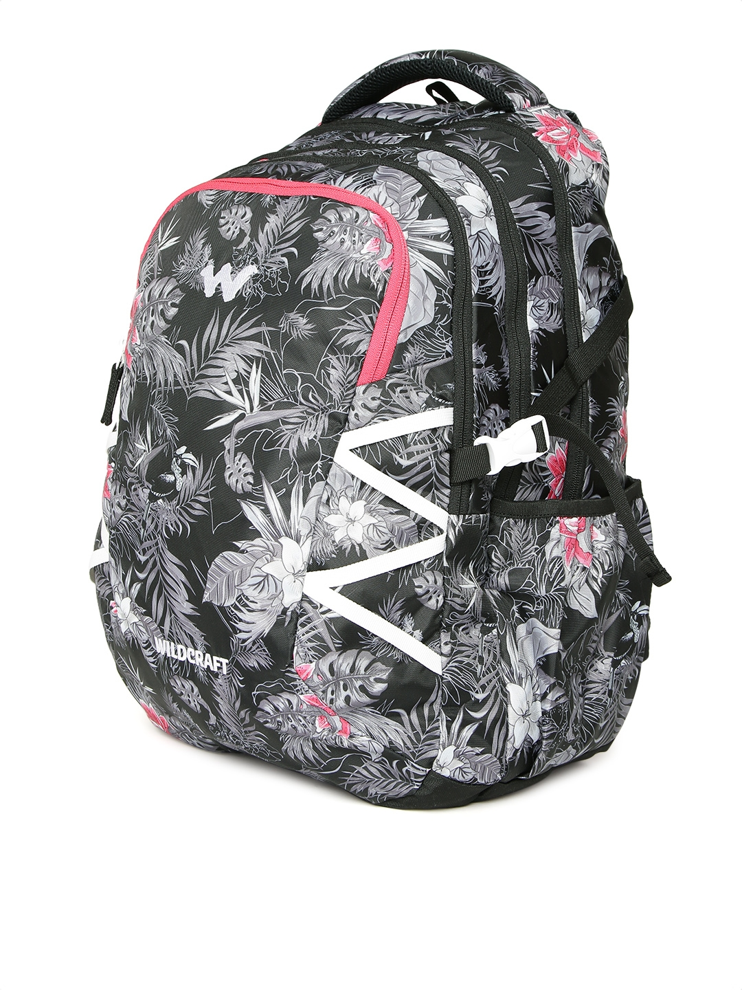 Buy Wildcraft Unisex Black WC 9 Flora 6 Printed Laptop Backpack ... 7c492fcadc0a7