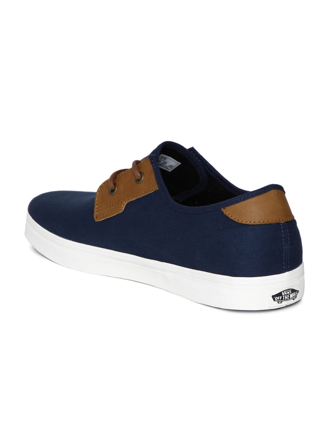 c64596ea6431 Buy Vans Men Navy Blue   Brown Colourblocked MICHOACAN SF Sneakers ...