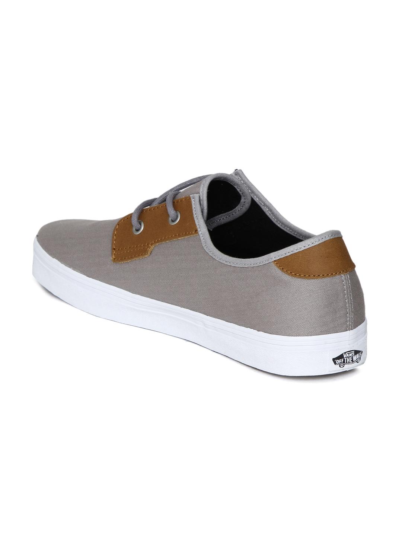 9bb591fdb6 Buy Vans Men Grey   Brown Colourblocked MICHOACAN SF Sneakers ...