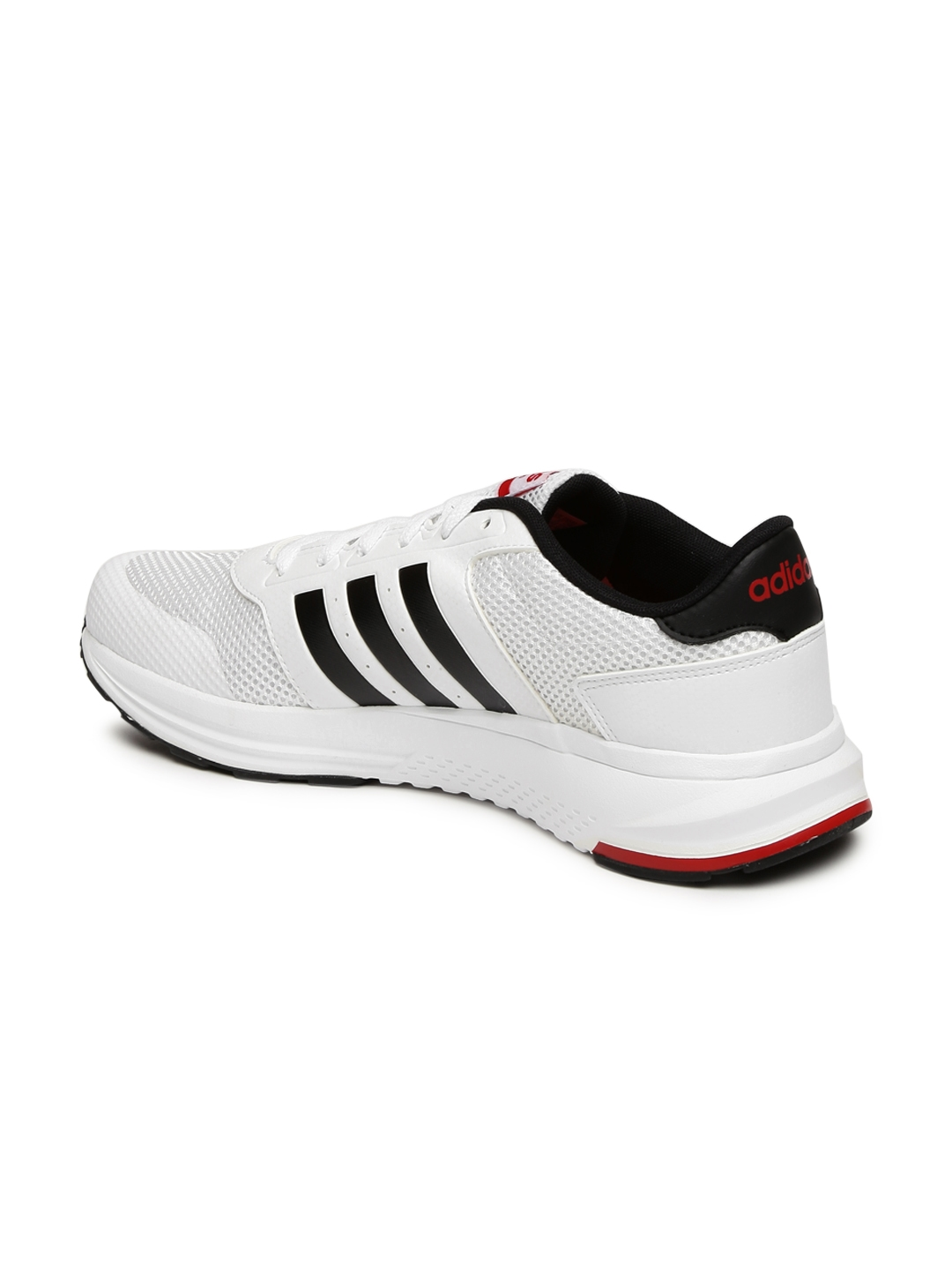 half off a7251 e48db ADIDAS NEO Men White Cloudfoam Saturn Sneakers