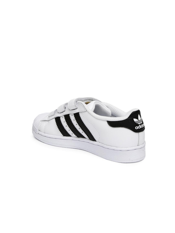 the best attitude e3e28 5d007 ADIDAS Originals Kids Unisex White SUPERSTAR FOUNDATION Leather Sneakers
