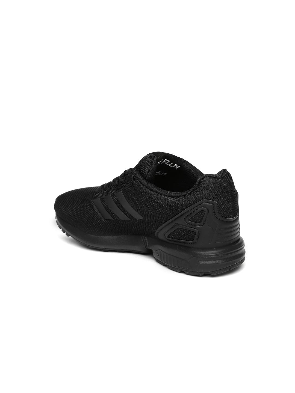 d5f105206 Buy ADIDAS Originals Kids Black Solid ZX Flux C Sneakers - Casual ...