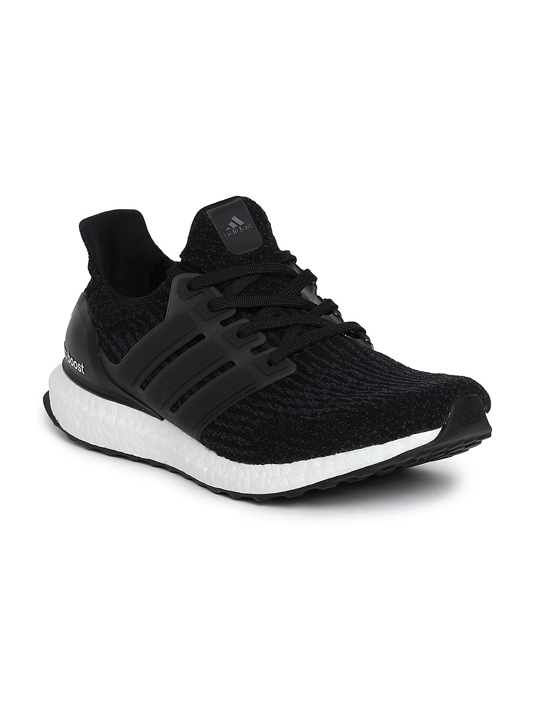 b0f422dcd4e7 Buy ADIDAS Men Black ULTRABOOST Running Shoes - Sports Shoes for Men ...