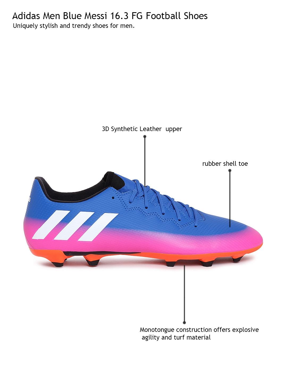 d8bd7c3feab Buy ADIDAS Men Blue Messi 16.3 FG Football Shoes - Sports Shoes for Men  1775219
